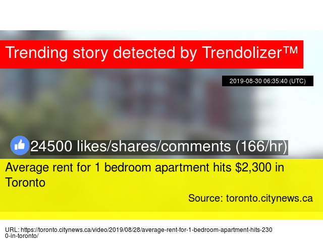 Amazing Average Rent For 1 Bedroom Apartment Hits 2 300 In Toronto Home Interior And Landscaping Ologienasavecom