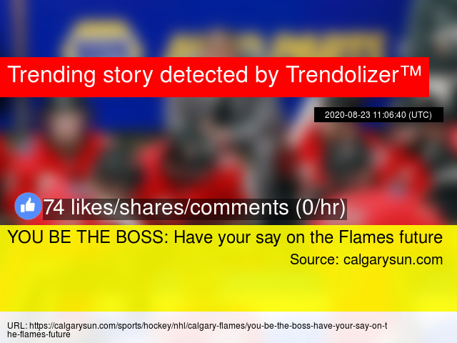 You Be The Boss Have Your Say On The Flames Future