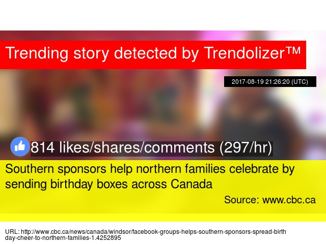 Southern Sponsors Help Northern Families Celebrate By Sending